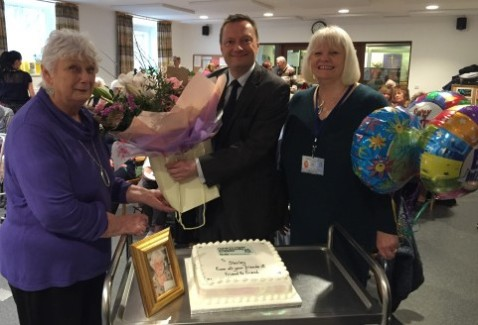 Shirley Simmonds retirement March 2016